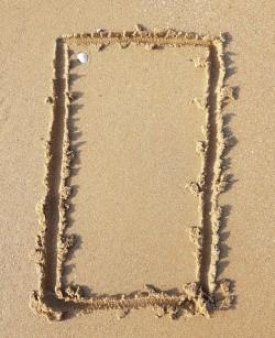 Orienter un support dans le sable 1