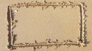Orienter un support dans le sable 2