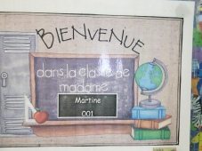 Classe Mme Martine