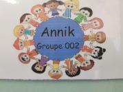 La classe de Mme Annik