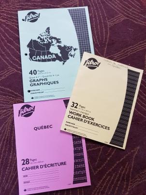 Cahiers au Québec