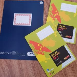Cahiers de maternelle en Autriche 1