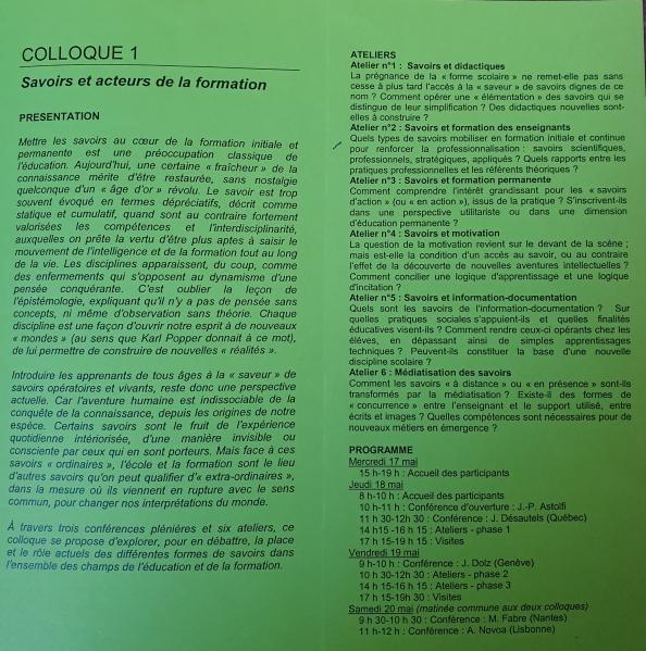 Astolfi colloque 2006