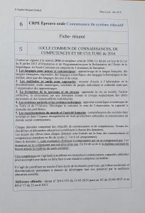 Fiche-résumé CSE 6