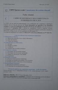 Fiche-résumé Cadre référence compét numériques 2019 12