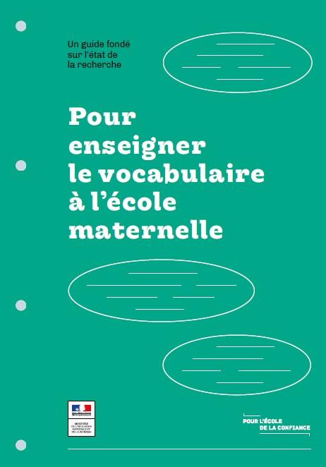 Guide vert Vocabulaire EM
